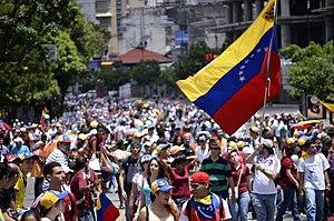 24 June 2014 Venezuelan protest