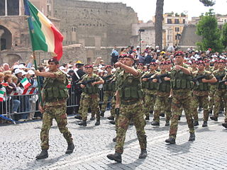 "1st Paratroopers Carabinieri Regiment ""Tuscania"" Italian Carabinieri regiment"