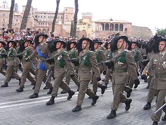 Bersaglieri - 8th Bersaglieri Regiment in 2007