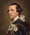 George III: n rauhanpääministerin Lord Rockinghamin muotokuva.
