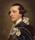 Portret van Lord Rockingham, vredespremier voor George III.