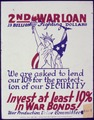 2nd War Loan. Invest at Least 10 Percent in War Bonds^ - NARA - 534006.tif