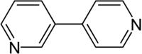 Strukturformel von 3,4′-Bipyridin