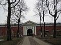 3. Невская куртина (1720-е гг.) и Невские ворота. 1731-32гг..JPG