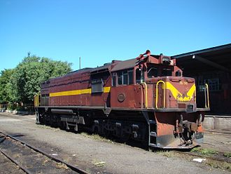 1974 in South Africa - Class 35-200 (GM-EMD GT18MC)