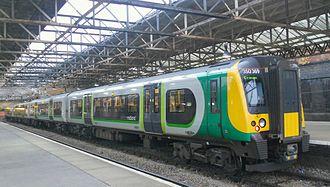 British Rail Class 350 - Image: 350369 Crewe