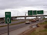 359 North @ Mile Post 0 in Tuscaloosa