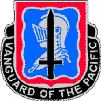 501st Military Intelligence Brigade (United States) - Image: 368th Military Intelligence Battalion DUI