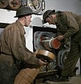 428 Battery, Coastal Defence Artillery Headquarters, Dover, Kent, December 1942 TR571.jpg