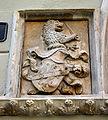 5000 - Milano - Portale ex Palazzo Vimercati (post 1450) - Stemma Taverna - Foto Giovanni Dall'Orto - 14-Feb-2008.jpg