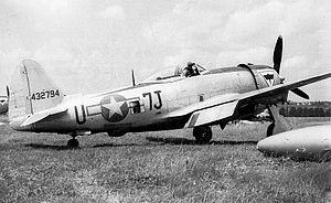 508th Fighter Squadron - Image: 508th Fighter Squadron Republic P 47D 30 RA Thunderbolt 44 32794