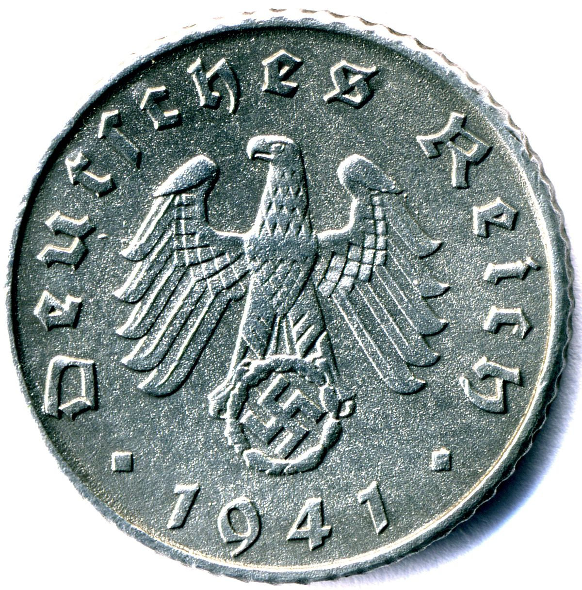 5 Reichspfennig World War Ii German Coin Wikipedia