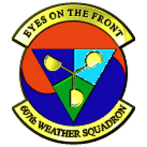 607th Weather Squadron - Current Squadron Emblem