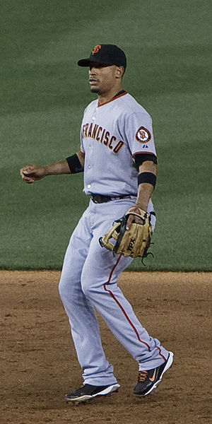 Emmanuel Burriss - Burris playing for the San Francisco Giants in 2009