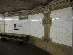 79th Street (IRT Broadway–Seventh Avenue Line) - Image: 79th Street IRT Broadway–Seventh Avenue 7