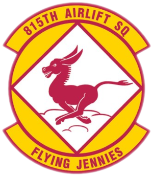 815th Airlift Squadron - Image: 815th Airlift Squadron