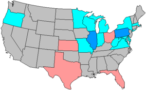 United States House of Representatives elections, 1954 - Image: 84 us house changes