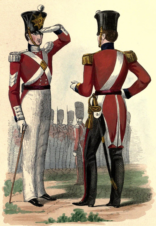 86th Foot uniform