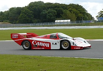 Richard Lloyd Racing - The Canon Racing Porsche 956 GTi, which the team used until 1986