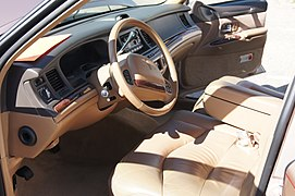 Driver Seat Dashboard 1996 Lincoln Town Car