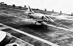 A-4C Skyhawk of VA-76 lands on USS Wasp (CVS-18) in 1968.jpg