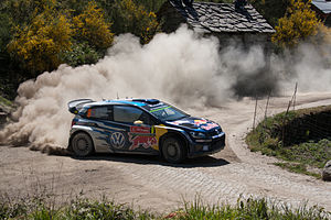 Rally de Portugal - Andreas Mikkelsen and Ola Fløene driving an updated Polo R WRC at the  49º Rally de Portugal.