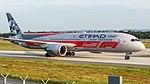 A6-BLV Etihad Airways B789 Formula 1 Livery FRA (47974978693).jpg