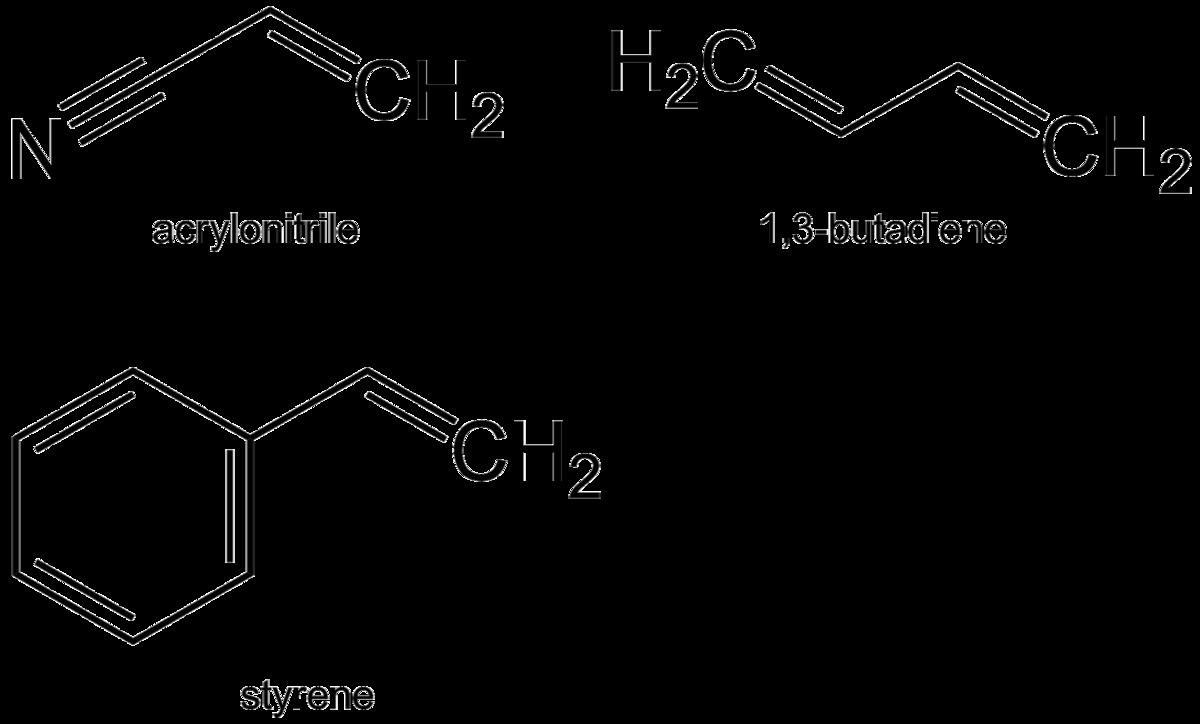acrylonitrile butadiene styrene wikipedia
