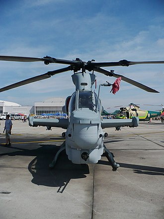 Bell AH-1Z Viper - Front view of AH-1Z at the MCAS Miramar Air Show