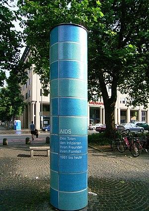 Wolfgang Tillmans - AIDS memorial in Munich