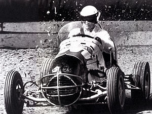 Jack Brabham - A midget car similar to those driven by Brabham