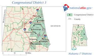 United States House of Representatives elections in Alabama, 2006 - Image: AL03 110