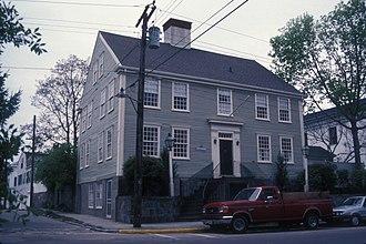 Amos Palmer House (Stonington, Connecticut) - Image: AMOS PALMER HOUSE, STONINGTON, CT