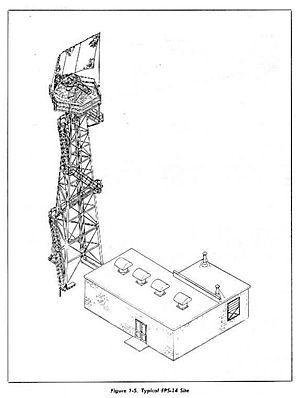 Bendix AN/FPS-14 Radar - Image: AN FPS 14