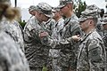 ARNG and USAR Soldiers don historic 'Old Abe' patch 150616-A-CF357-048.jpg