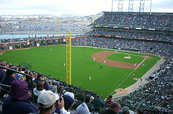 AT&T Park - San Francisco Giants.