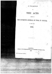 A Collection of the Acts passed by the Governor General of India in Council, 1896.pdf