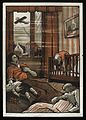 A family (two adults and two children) lying dead in a room Wellcome L0038322.jpg
