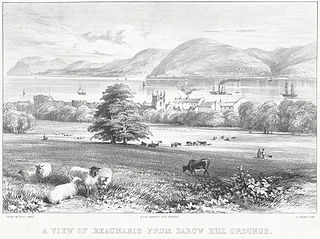 A view of Beaumaris: from Barow hill grounds