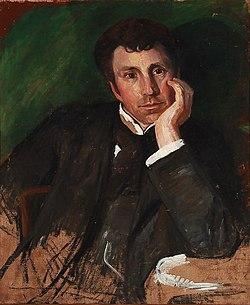 Aage Bertelsen - Portrait of the Norwegian painter Torleiv Stadskleiv (1901).jpg
