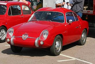 """Fiat-Abarth 750 - Fiat-Abarth 750 Zagato """" Double Bubble"""""""