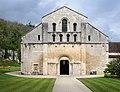 Abbaye Fontenay eglise facade 2.jpg