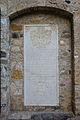 Abbaye de Romainmôtier - Pierre tombale de Anna Maria Hallweil.jpg