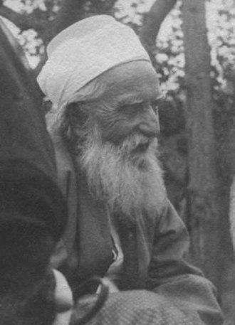 `Abdu'l-Bahá's journeys to the West - Image: Abdulbaha 2