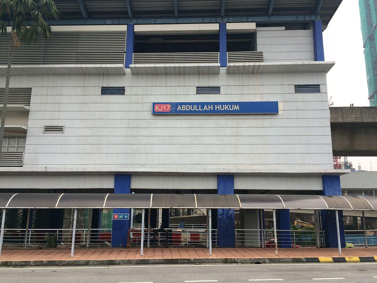 Ktm Wikipedia >> Abdullah Hukum station - Wikipedia