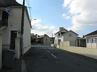 Abidos, Pyrénées-Atlantiques - A street in Abidos