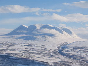 Abisko National Park - Image: Abisko snow