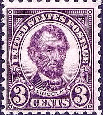 US Regular Issues of 1922–31 - Abraham Lincoln
