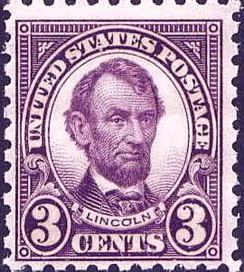 Abraham Lincoln 1923 Issue-3c
