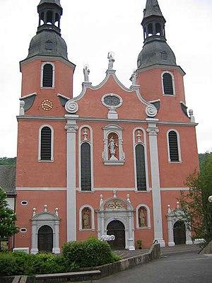 Prüm - Image: Abteikirche Prüm